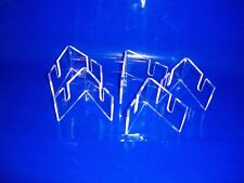 5 pack Clear Acrylic Knife Stand Display support Knife Holder collector display