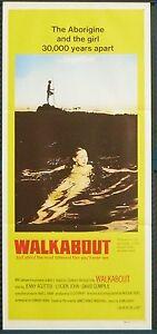 Walkabout - original daybill (UNUSED)