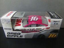 Greg Biffle 2013 PINK 3M #16 Ford Fusion 1/64 NASCAR