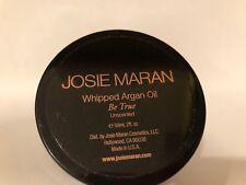 Josie Maran With Argan Oil  Be True Unscented BODY BUTTER 2 Oz New