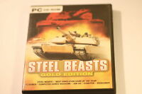 STEEL BEASTS -- GOLD EDITION -- PC CD-ROM GAME -- 2002