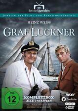 Graf Luckner - Komplettbox, Staffeln 1 + 2 + 3 (Amphitrite) 6 DVD Set NEU + OVP!
