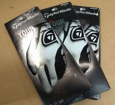NEW Taylormade Targa Tour Cabretta Leather Golf Gloves MENS RH Small SET OF 3