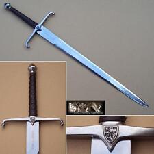 Traditional Scottish Robert The Bruce Sword Hand Made Steel Blade. Braveheart