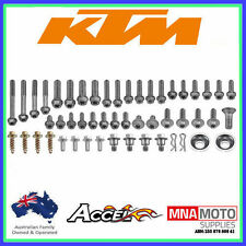 Accel KTM 65 Track Pack Hardware Bolt Kit Fits most KTM