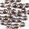 50 perles a Facettes Rondelles 4 x 3mm en Cristal Améthyste Clair AB