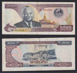 Lao 5000 kip 1997 BB/VF  A-05