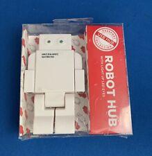 USB2.0 HUB ROBOT Hi-Speed 4 Port Hub with Light Up LED Eyes