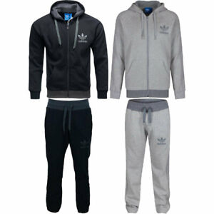 Adidas Spo Mens Full Tracksuit Originals  Hoodie Jogger Fleece All Size S - XL