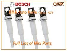 NEW BMW OEM BOSCH IGNITION COILS BMW & MINI COOPER 4x 12137575010 / 0221504800