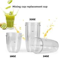 18/24/32oz Replacement Cup Jar Part,Fits Nutribullet 600W&900W Blenders Juicer