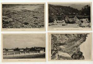 BOLIVIA Postcards Prepaid Overprint  Lot # 3