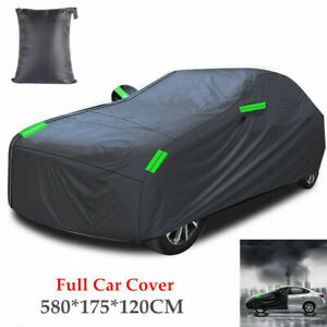 Full Car Cover Rainproof Dust-proof UV Resistant Outdoor All Weather Protection