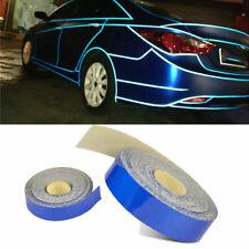 5mx1cm Blue Reflective Stripe Sticker Decal Tape Good Truck Body Self Adhesive
