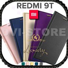 Custodia per Xiaomi Redmi 9T LUXURY Libro FLIP COVER LIBRETTO 360° MAGNETICA
