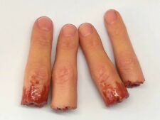 Severed Silicone Finger Prop - Realistic Prosthetic -  Halloween - FX Movie Prop