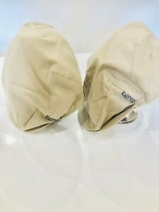 Genuine Burberry flat cap/newsboy hat, Size Large.       2x Items