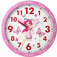 New Kids clock Time Teacher Kids Room 25cm Time Learning Support Wall Clock