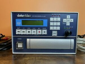Datavideo MP-6000 DVD Recorder W/Built-In TBC Time Base Corrector & Power Supply
