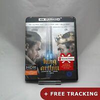 King Arthur: Legend of the Sword  4K UHD + Blu-ray 3D & 2D