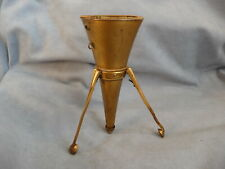 antique ormolu nosegay posey holder tripod tussie mussie porte bouquet 1900s