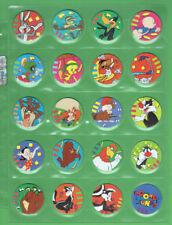 #EE.   #41-60 1995 LOONEY TUNES TAZOS, PURPLE BACKS
