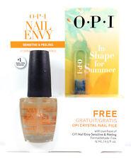 OPI Nail Envy- For Sensitive & Peeling Nails 0.5oz/15ml + FREE Crystal Nail File