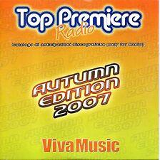 Top Premier Radio Autumn Edition 2007 Viva Music Cd  Promo Cardsleeve NM 2007