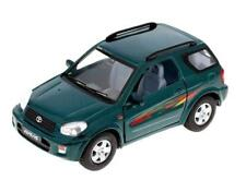 "New 5"" Kinsmart Toyota Rav4 Diecast cAR Model Toy SUV 1:32 Green"