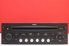 PEUGEOT 207 307 807 EXPERT CITROEN C2 C3 C4 BERLINGO CD RADIO MP3 PLAYER RD4