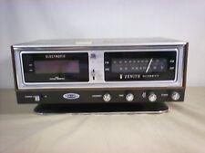 Zenith Radio In Vintage Electronics Ebay. Vtg Retro Zenith Solid State Am Fm Digital Clock Radio Circle Of Sound R472. Wiring. Zenith Radio Schematics Model C730 At Scoala.co
