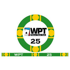 Fiches Ceramica WPT World Poker Tour Valore 25