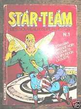 STAR TEAM les nouveaux super-héros n° 1 - Eurédif 1984