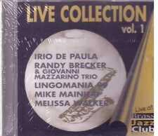 Jazz Live Collection De Paula Brecker Mazzario Trio Mainieri Cd Sealed Sigillato