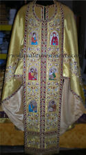 Priest Vestments Greek style Embroidered TO ORDER!
