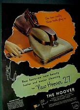 Hoover Vacuum Sweeper Household Appliance 1946 Paper AD