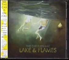 CAR IS ON FIRE-Lake & Flames 24tracks + 2 Videos Japan CD w/OBI