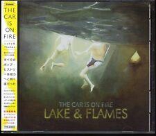 CAR IS ON FIRE-Lake & Flames 24tracks + 2 Videos Japan CD w/OBI