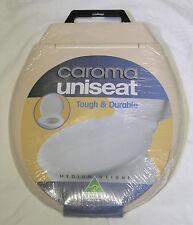 NEW - Caroma Uniseat Toilet Seat Ivory 301111I