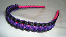 On Target Passion II Bow Wrist Sling in Neon Pink/Purple/Black for compound bows