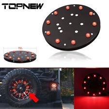 """12.5"""" Spare Tire Wheel LED Third Brake Light Red LED Lamp For Jeep JK Wrangler"""