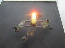 Candelabra / Candle Holder - Metal - Vine & Leaf Design for 5 Candles