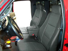 FORD RANGER 2006-2009 CHARCOAL S.LEATHER CUSTOM MADE FRONT SEAT & CONSOLE COVER