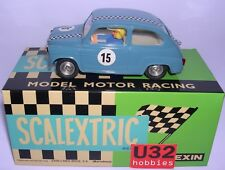 SCALEXTRIC EXIN T.C.SEAT 600 #15 AZUL  CARROCERIA DE RESINA LTED.ED.8UNID