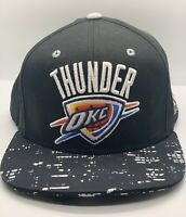 Adidas Oklahoma City Thunder NBA OKC Basketball Snapback City Lights Cap Hat 🔥