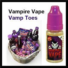 Vampire Vape *4 x 10ml - Vamp Toes 6mg E-Liquid