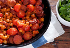 Chorizo with Chickpeas quick 5 Ingredients Healthy Recipe+Cooking video PDF