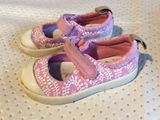 Kids  toddlers girls clarks trainers shoes size 5.5 f infant