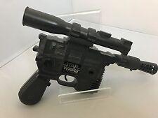 Vintage Star Wars Han Solo Laser Pistol Blaster DL-44 Electronic WORKING