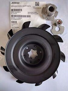 New OEM Genuine Hydro Gear 72658 Fan/Pulley Kit